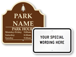 Custom Campground Signs | Personalized Camping Signs