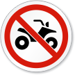 ISO Circular Prohibition Sign