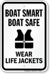Boating Sign