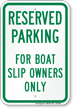 Campground Boating / Marine Recreation Sign