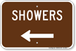Campground Guide Sign