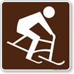 Guide Sign for Campsite