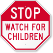 Children Road Safety Sign