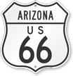 Arizona Route Marker Shield Sign