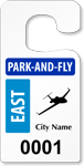 Plastic ToughTags™ Park'n'Fly Permits