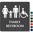 9in. x 9in. TactileTouch Sign With Braille