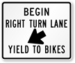 Begin Right Turn Lane